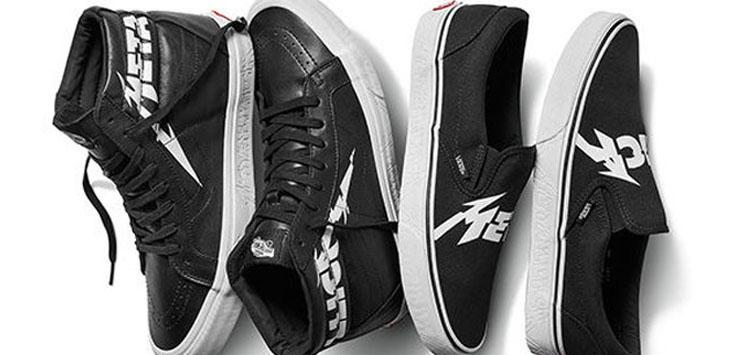 Koleksi Vans x Metallica./Foto via Jawapos/com