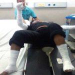 PERAWATAN: Korban ledakan tabung gas 3 kilogram dirawat di RS Al-Islam. MUHAMMAD GUMILANG/RADAR BANDUNG