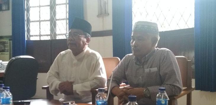 Ketua MUI Jabar Rahmat Syafei (kiri)./Foto via Rmol.co