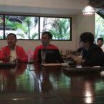 Pertemuan dengan Partai Solidaritas Indonesia (PSI) di RM. Leuit Ageng Jalan KH. Abdullah Bin Nuh No.36, Kota Bogor, Senin (16/4/2018)./Foto: Adi