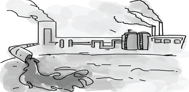 Ilustrasi Pencemaran Lingkungan. Ist