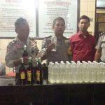 Puluhan Liter Miras
