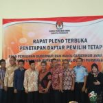 Rapat pleno terbuka penetapan DPT di Kawasan Grama Tirta Jatiluhur, Kamis (19/4)./Foto: via Rmol.co.