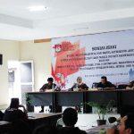 SOSIALISASI: Suasana sosialisasi Pilkada serentak di Aula KPU Sumedang, Rabu (24/4/18). AGUN GUNAWAN/RADAR SUMEDANG
