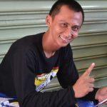 Pembalap tanah nasional, Wawan Hermawan./Foto: Unang
