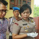 Polres Cianjur Ekpose kasus senjata rakitan