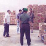 Jajaran Polres Sukabumi Kota bersama jajaran TNI serta Satuan Polisi Pamongpraja (Satpol PP) Kota Sukabumi, kembali mengamankan ratusan botol Minuman Keras (Miras)