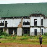 Gedung Islamic Center Kabupaten Bekasi di Desa Srimahi, Tambun Utara mangkrak bertahun-tahun. Foto : Dokumentasi