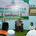 Peringatan Isra Mi'raj di Mushola Al-Hilal, Desa Cibanteng, Minggu (22/4/2018)./Foto: Istimewa
