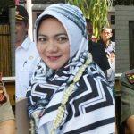Dandim 0608 Cianjur, Letkol CZI Hidayati,, Hj. Ratu Eliesye Fitriane, Ketua TP PKK Kabupaten Cianjur, Kapolres Cianjur, AKBP Soliyah.
