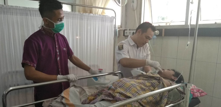 korban miras oplosan di SUkabumi./Foto: via Rmol.co.