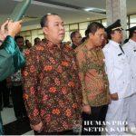 Pejabat eselon II Kabupaten Bekasi saat diambil sumpah jabatan. Foto : Humas Pemkab Bekasi for Pojoksatu