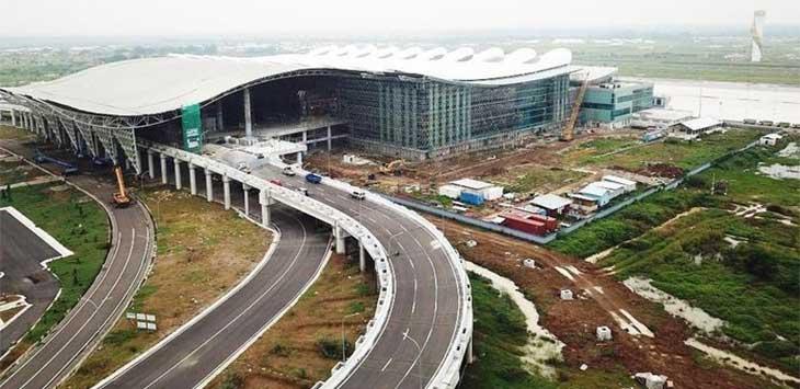 Bandara Kertajati Majalengka Jawa Barat.