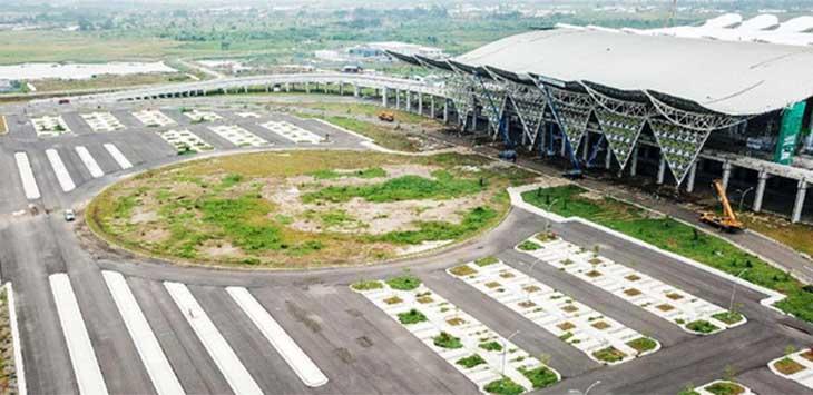 Bandara Kertajati di Majalengka.