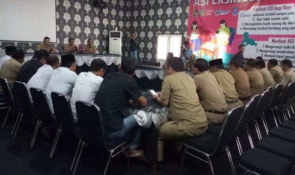 Camat dan Jajaran Pemerintah Purwakarta menolak pernyataan Ridwan Kamil./Foto: via Rmoljabar
