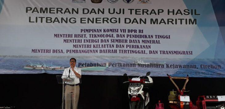 Pjs Wali Kota Cirebon jelaskan soal pariwisata laut dan wisata religi./Foto: Alwi