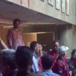 Massa PDI Perjuangan Geruduk Radar Bogor