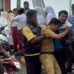 Mobil Operasional Kecamatan Cabangbungin Kecelakaan 3