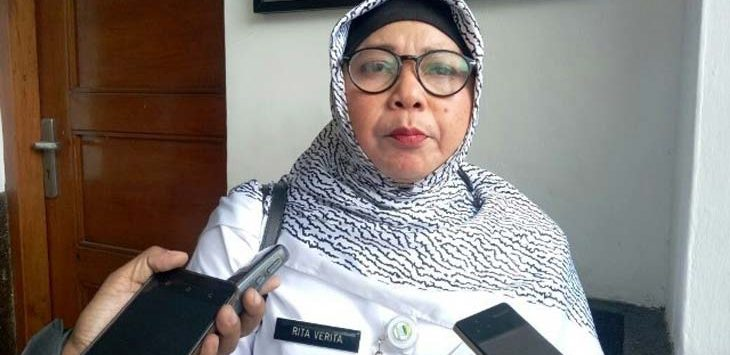 Rita Verita Kepala Dinas Kesehatan Kota Bandung. (JawaPos.com)