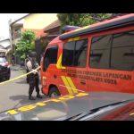 Suasana penggerebekan terduga teroris di Tasikmalaya