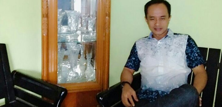 Asep Undang Juana (Alex) Tokoh Pemuda Sukatani Purwakarta./Foto: Ade