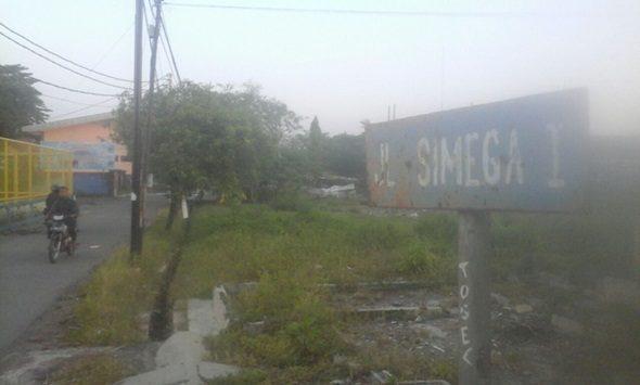 Gang Simega 1, Jalan Tuparev yang sering terjadi tindak kejahatan. Foto: Alwi
