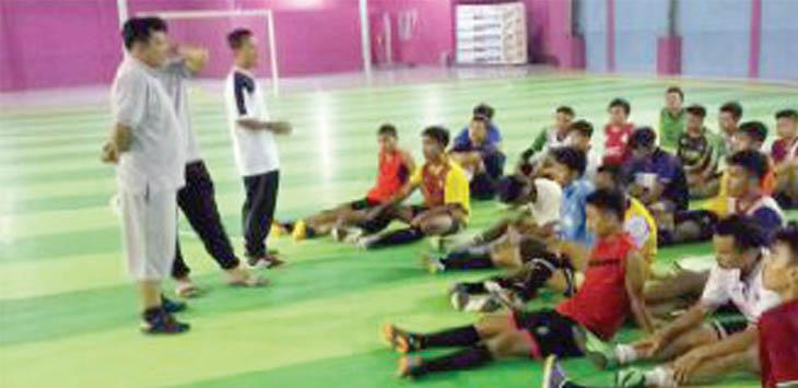 DICORET: Cabor futsal dikabarkan tidak diikutsertakan dalam kontingen Kota Sukabumi diajang Porda 2018 di Kabupaten Bogor, Oktober mendatang.