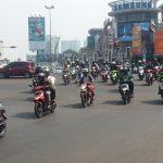 Mudik Motor di Kota Bekasi Masih Sepi