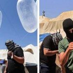 Balon-Kondom-Api-Palestina-untuk-Israel