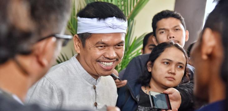 Dedi Mulyadi sambangi Polda Jabar./Foto: via ps