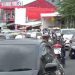 Kondisi lalu lintas di kawasan puncak Bogor berlakukan sistem satu arah, foto/ Istimewa