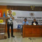 Konferensi PWI Kota Bogor 2018