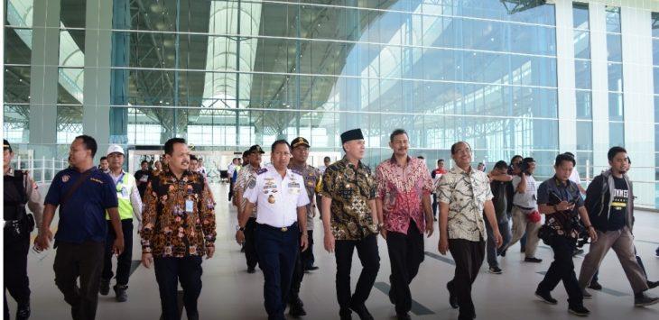 Iwan Bule saat kunjungi Bandara Kertajati, Sabtu (23/6/2018)./Foto: Rmol