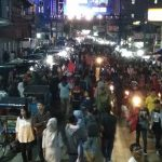 Malam Takbiran di Sukabumi