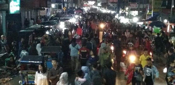 Malam Takbiran di Sukabumi./Foto: via Rmol