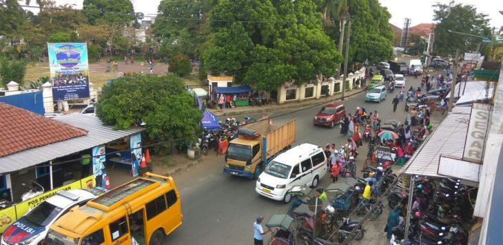 Arus lalu lintas  jalur alternatif selatan Jawa Barat via Salawu-Kota Tasikmalaya./Foto: via Rmol