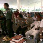 Usmar Hariman hadiri acara halal bihalal. Istimewa