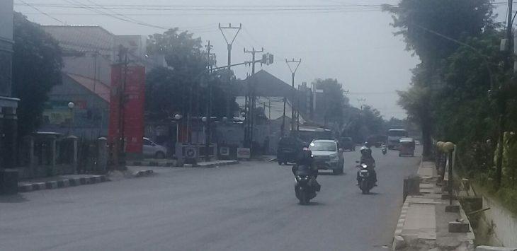 Jalur pemudik di wilayah Purwakarta masih lenggang, Jumaat (8/6/2018)./Foto: Ade
