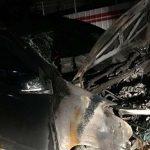 Mobil Neno Warisman saat alami kebakaran
