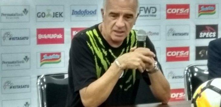 Mario Gomez sebut Persib bisa mencetak lebih dari satu gol./Foto: jpc