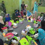 Pelatihan wirausaha kaum ibu di Bekasi Utara, Jumat (20/7/2018). (Foto: ist)