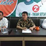 Konferensi pers Timpen HADIST, Selasa (10/7/2018)./Foto: Unang