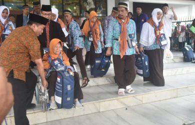Jamaah Haji Asal Kabupaten Bogor,foto /unang