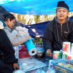 Suasana di rest area Gunung Pangrango./Foto: Unang
