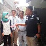 DIUSUT: Olah Tempat Kejadian perkara di Jalan Jengkol, Gang Swadaya II, Selasa (17/7/18). Ist