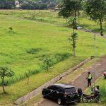 LUAS: Lahan RRI yang berada di Kelurahan Cisalak, Kecamatan Sukmajaya akan dibangun kampus Universitas Islam Internasional Indonesia (UIII ). Ahmad Fachry/Radar Depok