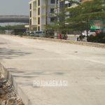 Ruas Jalan Kali Baru, Medansatria. (Foto: Yurizkha Aditya/PojokBekasi)