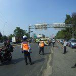 Petugas Gabungan saat melakukan Operasi kendaraan di Kawasan Yasmin dan Ciawi Bogor. Adi/PojokBogor