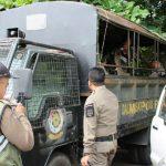KURANG: Satpol PP kekurangan armada untuk melakukan operasi di wilayah Purwakarta. Gani/Radar Karawang