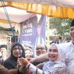 Tri Adhianto bersama istri menghadiri peresmian TPA MIftahul Ulum yang berlokasi di Perumahan Wisma Jaya Bekasi Timur